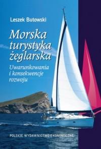 Morska turystyka żeglarska - okładka książki