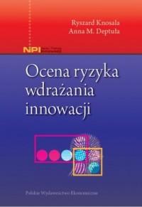 Ocena ryzyka wdrażania innowacji - okładka książki