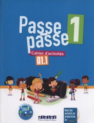 Passe-Passe 1 Ćwiczenia A1.1 + - okładka podręcznika