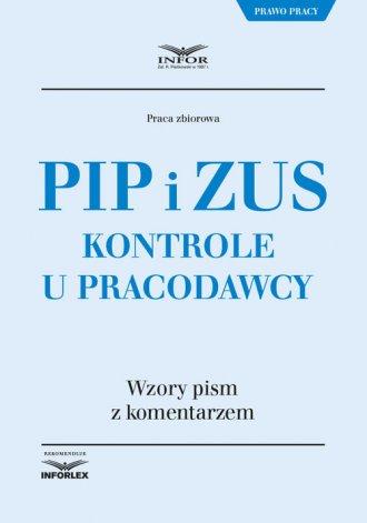 PIP i ZUS Kontrole u pracodawcy - okładka książki