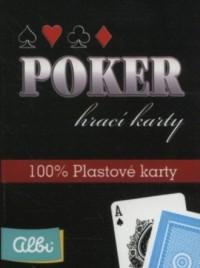 Poker karty plastikowe - zdjęcie zabawki, gry