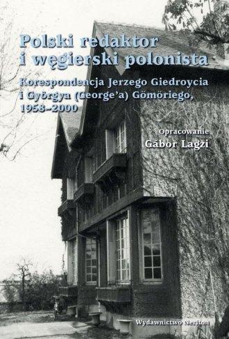 Polski redaktor i węgierski polonista. - okładka książki
