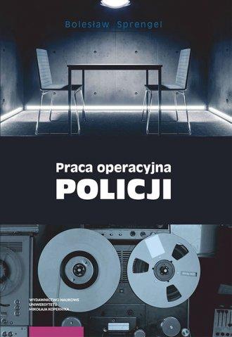 Praca operacyjna Policji - okładka książki
