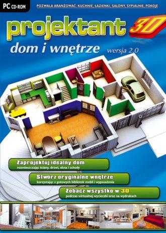 Projektant 3D: Dom i Wnętrze wer. - pudełko programu