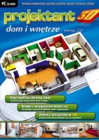Projektant 3D: Dom i Wnętrze wer. 2.0 - pudełko programu