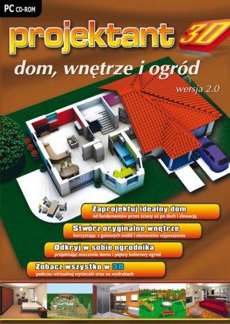 Projektant 3D: Dom, Wnętrze i Ogród - pudełko programu