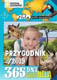 Przygodnik 2018/201926.18 365 dni w poszukiwaniu zwierząt z Nelą - okładka książki