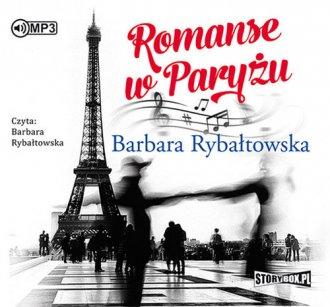 Romanse w Paryżu - pudełko audiobooku