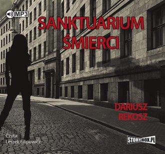 Sanktuarium śmierci - pudełko audiobooku
