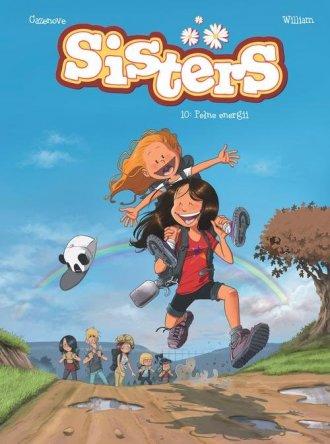 Sisters Tom X Pełne energii - okładka książki
