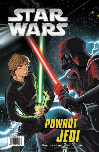 Star Wars Powrót Jedi - okładka książki