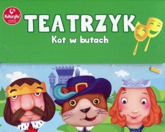 Teatrzyk kot w butach Kukuryku - zdjęcie zabawki, gry