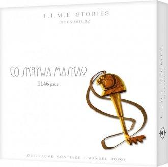 T.I.M.E Stories Tajemnica Maski - zdjęcie zabawki, gry