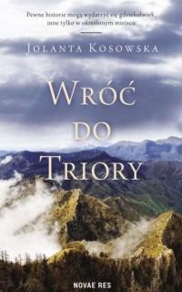 Wróć do Triory - okładka książki