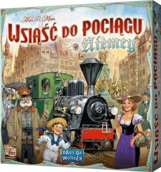 Wsiąść do Pociągu: Niemcy - zdjęcie zabawki, gry