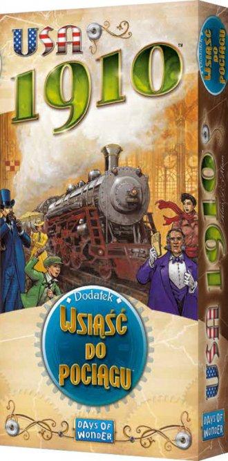 Wsiąść do Pociągu: USA 1910 - zdjęcie zabawki, gry