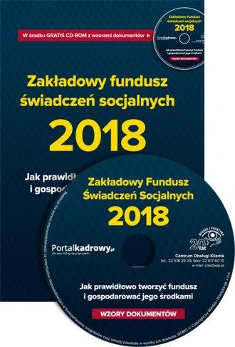 Zakładowy fundusz świadczeń socjalnych - okładka książki