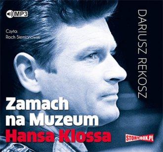 Zamach na Muzeum Hansa Klossa - pudełko audiobooku
