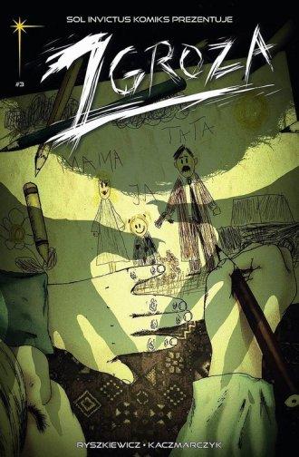 Zgroza 3 Strach - okładka książki