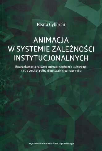 Animacja w systemie zależności - okładka książki