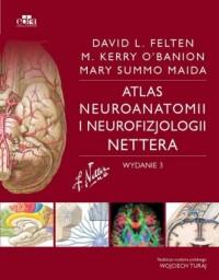 Atlas neuroanatomii i neurofizjologii Nettera - okładka książki