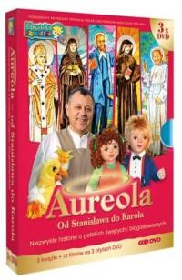 Aureola. Od Stanisława do Karola (3 książki+3 płyty DVD) - okładka książki