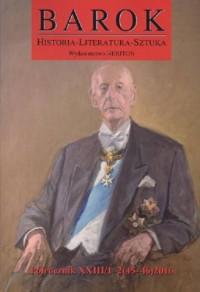Barok. Historia-Literatura-Sztuka. Nr 45/46 / 2016 - okładka książki