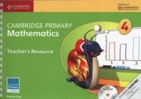 Cambridge Primary Mathematics Teacher s Resource (+ CD) - okładka książki
