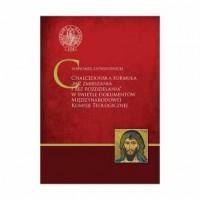 Chalcedońska formuła bez zmieszania i bez rozdzielania w świetle dokumentów Miedzynarodowej Komisji Teologicznej - okładka książki