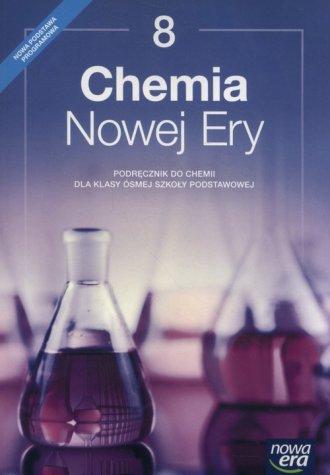 Chemia Nowej Ery 8. Szkoła podstawowa. - okładka podręcznika