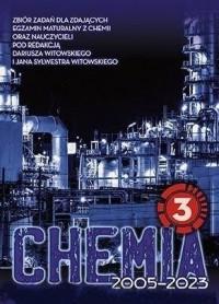 Chemia Zbiór zadań wraz z odpowiedziami. Tom 3. dla kandydatów na uniwersytety medyczne i kierunki przyrodnicze zdających maturę z chemii - okładka podręcznika