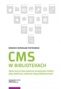 CMS w bibliotekach - okładka książki