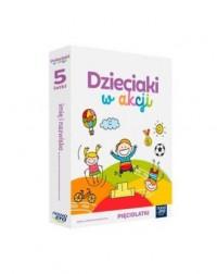 Dzieciaki w akcji 5-latki Box - okładka podręcznika