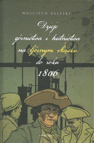 Dzieje górnictwa i hutnictwa na - okładka książki