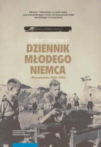 Dziennik młodego Niemca Wspomnienia 1939-1940 - okładka książki