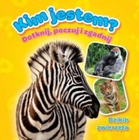 Dzikie zwierzęta, Kim jestem, Książeczki z futerkiem - okładka książki