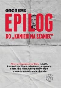 Epilog do Kamieni na szaniec cz. 3 - okładka książki
