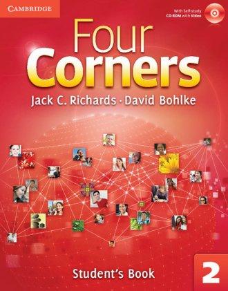 Four Corners 2 Students Book with - okładka podręcznika