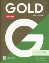 Gold B2 First New edition Coursebook - okładka podręcznika