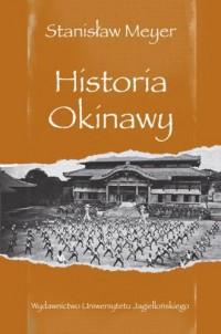 Historia Okinawy - okładka książki