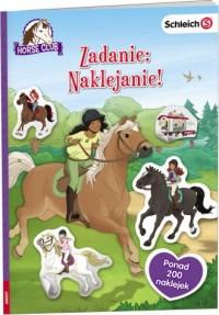 Horse Club Zadanie: Naklejanie - okładka książki