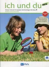 Ich und du neu 5. Szkoła podstawowa. Zeszyt ćwiczeń. Wersja rozszerzona - okładka podręcznika