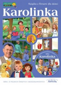 Karolinka - książka z filmami dla dzieci - okładka książki