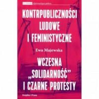 Kontrpubliczności ludowe i feministyczne - okładka książki