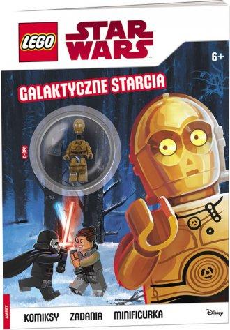 Lego Star Wars. Galaktyczne starcia - okładka książki