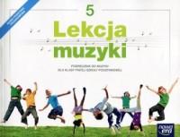 Lekcja muzyki 5. Szkoła podstawowa. Podręcznik - okładka podręcznika