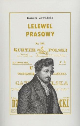 Lelewel prasowy - okładka książki