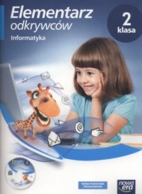 Elementarz odkrywców 2. Szkoła podstawowa. Informatyka. Zeszyt ćwiczeń CD - okładka książki