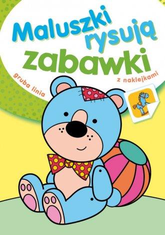 Maluszki rysują zabawki - okładka książki