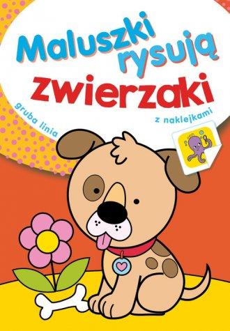 Maluszki rysują zwierzaki - okładka książki